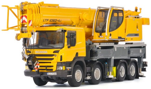 Liebherr LTF 1060-4.1 Mobile Crane with Scania Cab