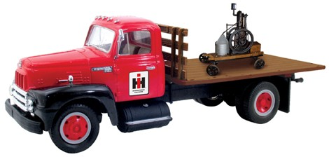 I.H. 190 flatbed with motor load