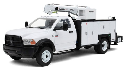 Ram 5500 with Maintainer Service Body