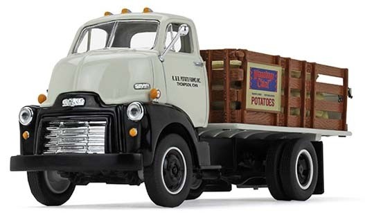 1952 GMC COE Stake Truck with Sack Load-K. & B. Potato Farms, Inc.