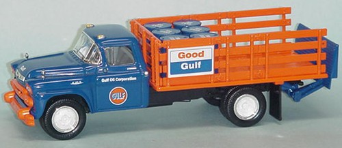 'GULF OIL' '58 GMC Stake body w/liftgate