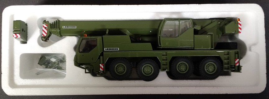 Liebherr LTM1070-4.1 Military Green Crane