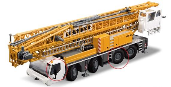 Liebherr MK 88 mobil tower crane
