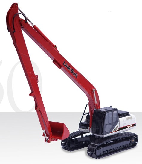 Link Belt LBX 250X3 long reach with bucket