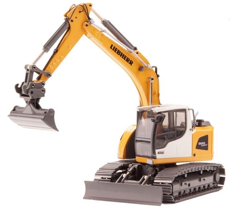 Liebherr R920 Compact Excavator with Monoblock Boom
