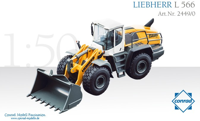 Liebherr L566 Wheel Loader