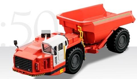 Sandvik TH 550 underground mining dump truck