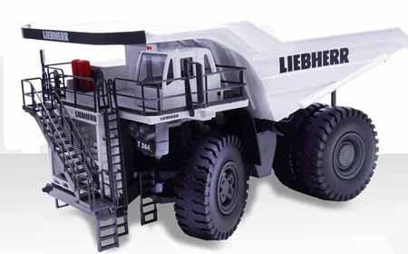 """Liebherr T 264 mining dump truck-""""White"""""""