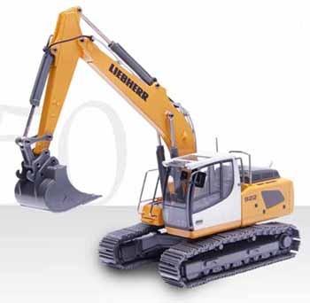 Liebherr R 922 track excavator