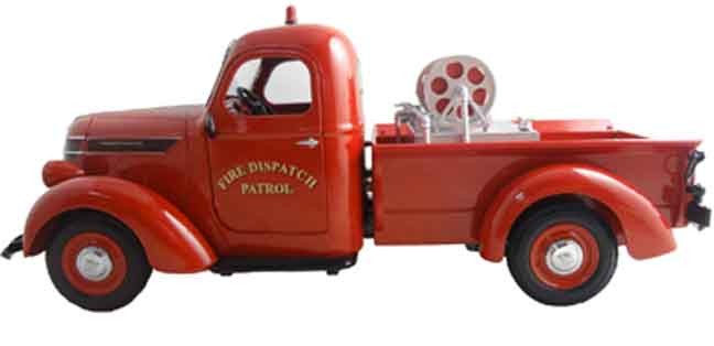 1938 Interantional D2 pick up 'FIRE DISPATCH PATROL'