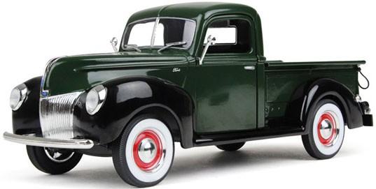 1940 Ford Pickup in Yosemite Green
