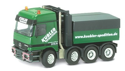 "MERCEDES BENZ ACTROS SLT  HEAVY HAUL TRACTOR ""KUBLER SPEDITION"""