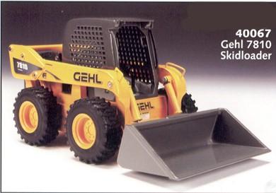 Gehl 7810 skid loader