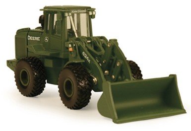 John Deere 624K military wheel loader