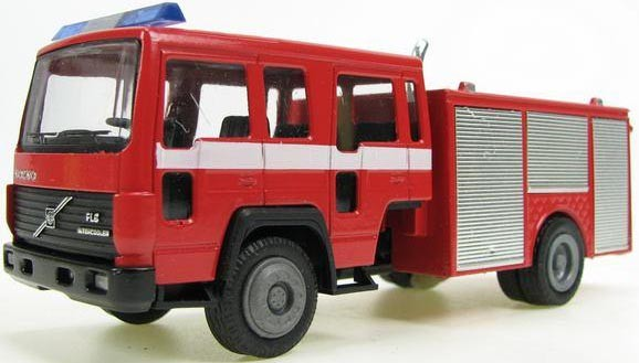 Volvo FL6 truck with emergency body.