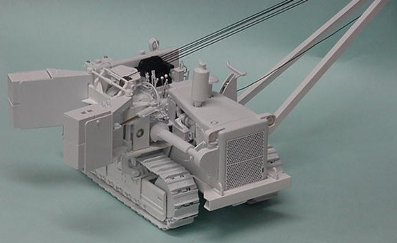 White International TD 25 crawler with side boom and counterweights