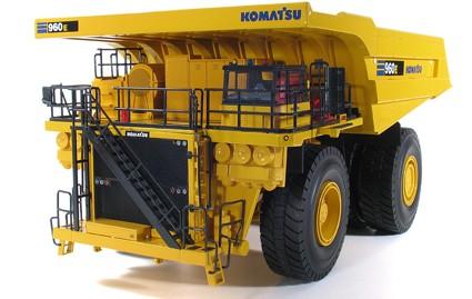 Komatsu 960E-2K quarry dump truck