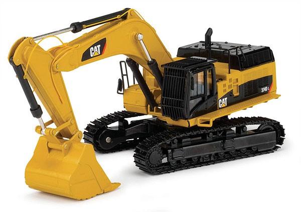Cat 374D track excavator