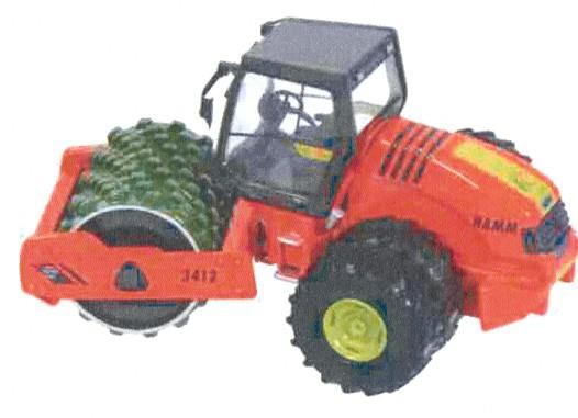 HAMM 3412 HT P compactor