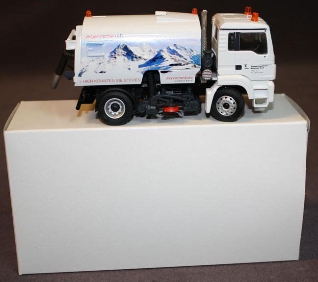 M.A.N truck with Bucher- Schroling street sweeper 'MANNLICHEN'