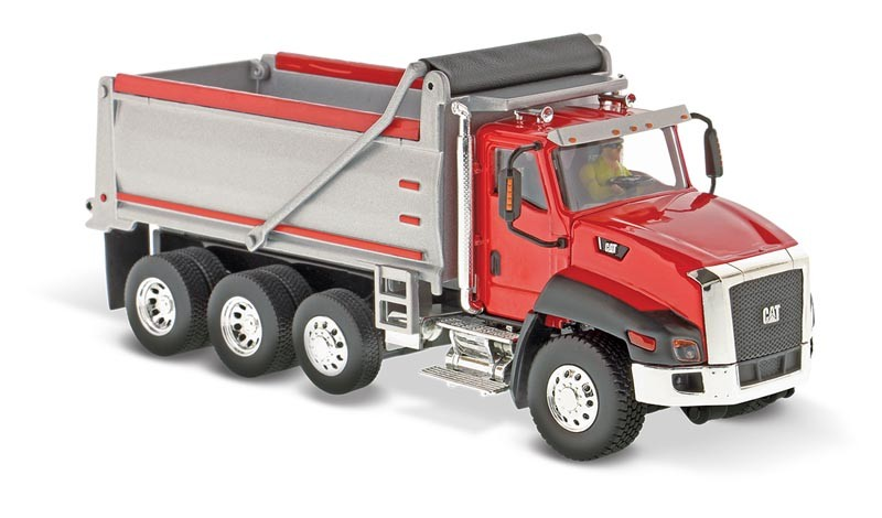Caterpillar CT660 Red Dump Truck
