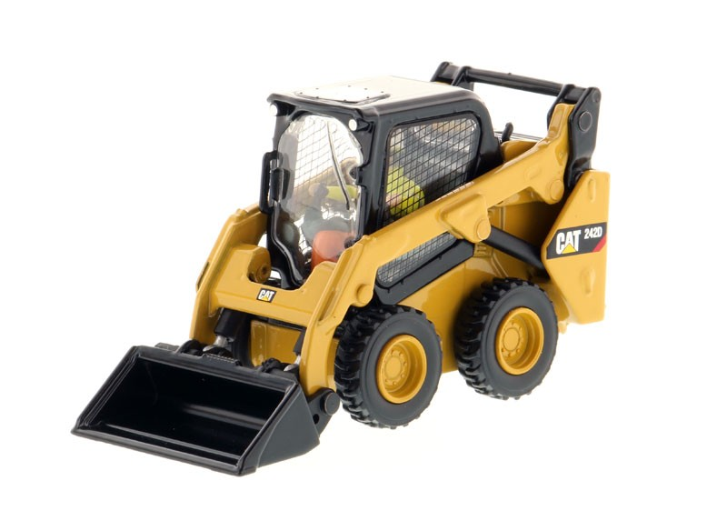 Caterpillar 242D Compact Skid Steer Loader-High Line Series