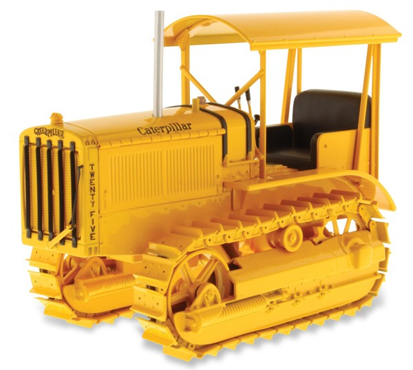 ACMOC CATERPILLAR TWENTY-FIVE CRAWLER WITH CANOPY-YELLOW VERSION