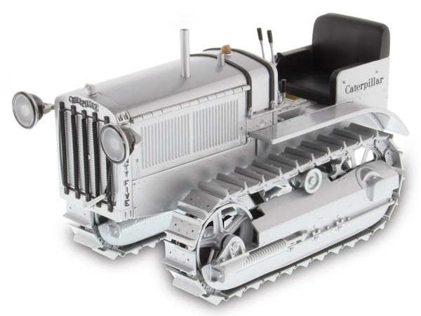 ACMOC CATERPILLAR TWENTY-FIVE CRAWLER IN SILVER-25th Anniversary Commemorative Edition