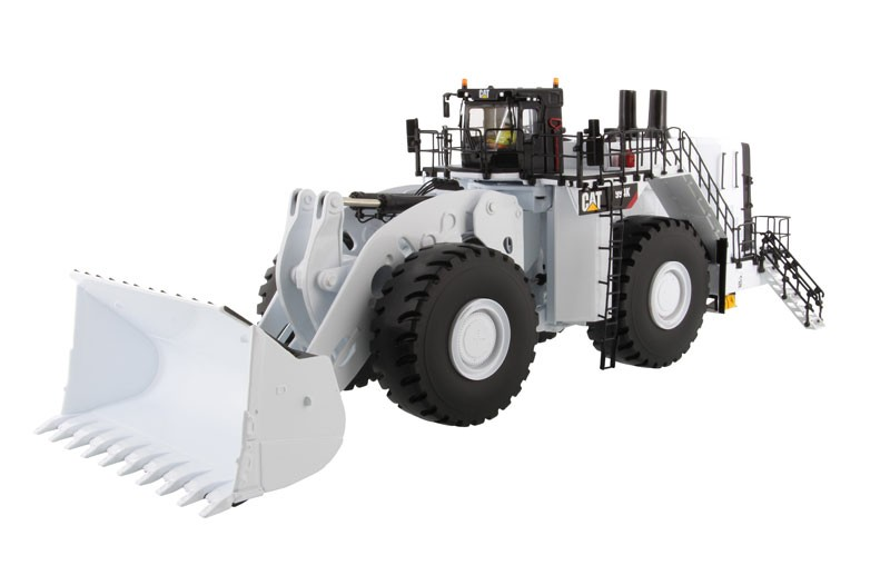 Caterpillar 994K Wheel Loader with Coal Bucket in White - High Line Series