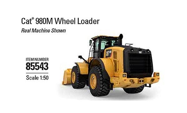 Caterpillar 980M Wheel Loader - High Line Series