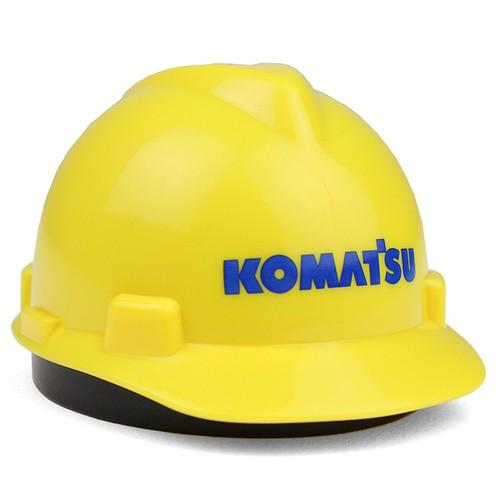 Komatsu Plastic hard hat bank