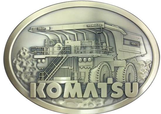 Komatsu 960E quarry truck belt buckle