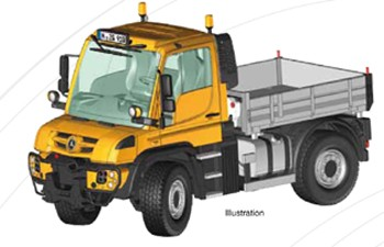 UNIMOG U400 utility vehicle 'ORANGE'