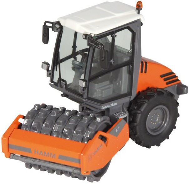 HAMM H7I Compactor with pad foot