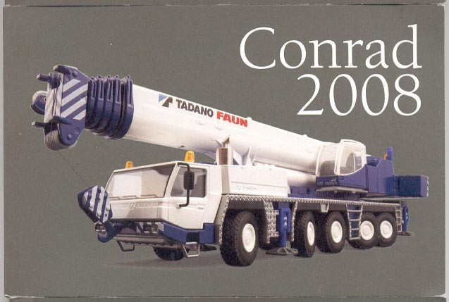 Conrad 2008 mini catalog