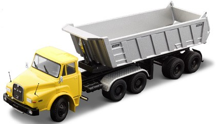 MAN DHAS w/ dump trailer