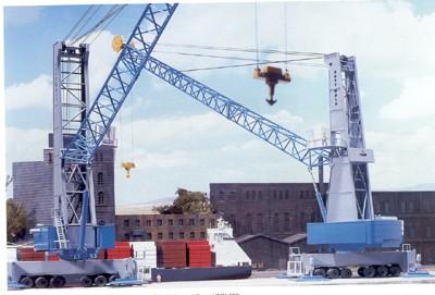 Gottwald Mobil Harbor Crane
