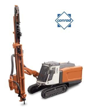 Sandvik DP 1500 track mounted drill