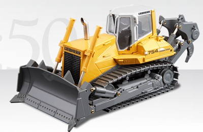 Liebherr PR 754 metal track dozer