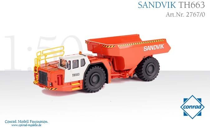 Sandvik TH663 Underground Mining Truck
