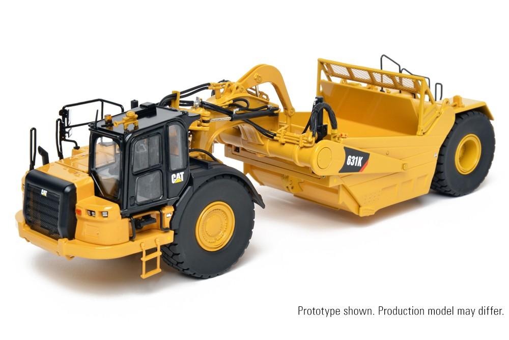 Cat® 631K Wheel Tractor-Scraper – Die-Cast