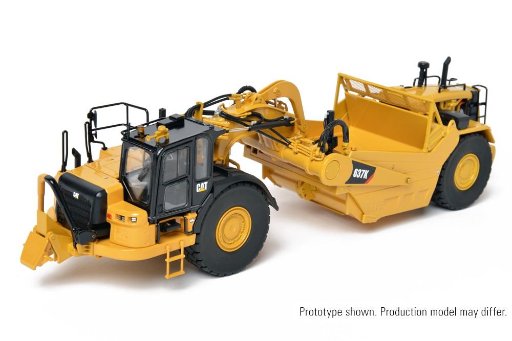 Cat® 637K Wheel Tractor-Scraper – Die-Cast