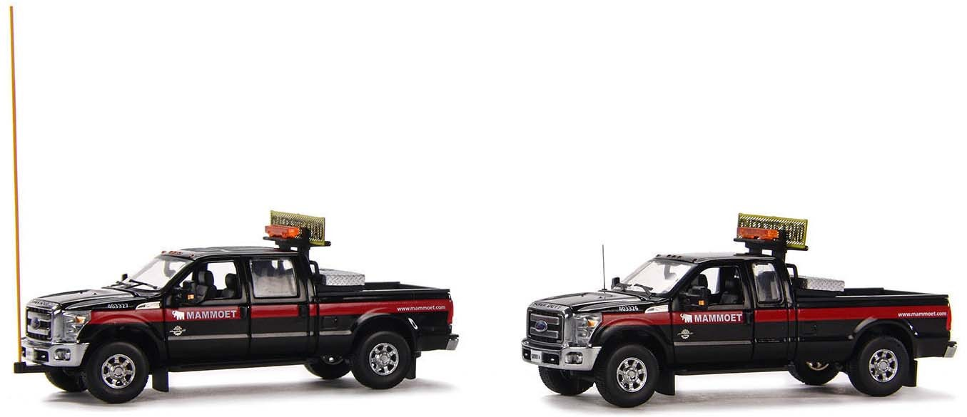 FORD F-250 PICKUP TRUCK ESCORT SET-MAMMOET
