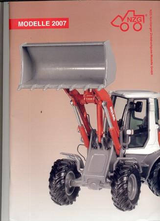 NZG 2007 catalog