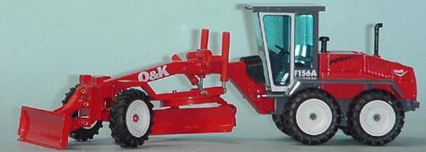O&K 156A road grader revised version