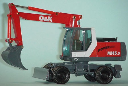 O&K MH 5.5 excavator revised version