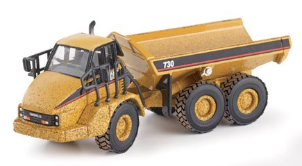 Weathered Cat 730 articulated