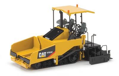 Cat AP 655 D track asphalt paver/canopy