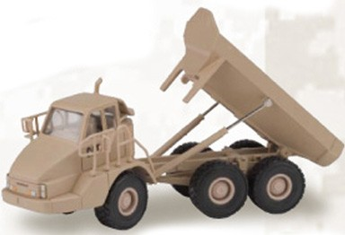 Cat 730 art truck Desert Tan