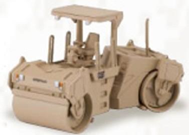 Cat CB-534D asphalt compactor Desert Tan